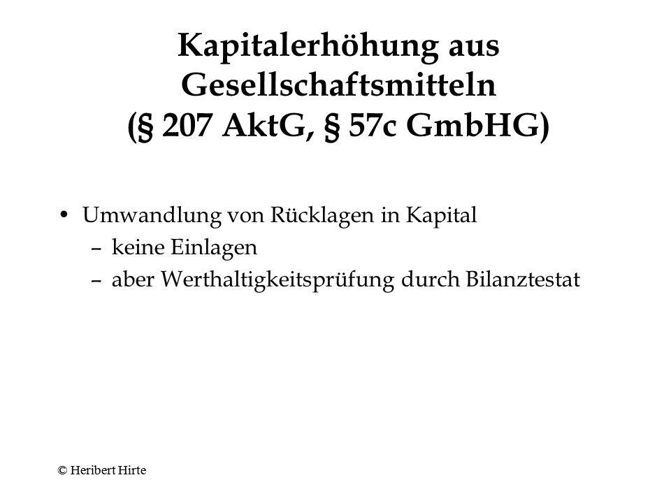 Ausschluss des Bezugsrechts (§ 186 Abs.