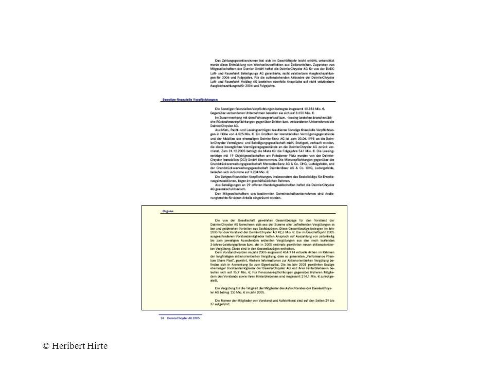 Geschäftsleiter - Anstellung - = konkretisierendes Grundverhältnis –entgeltlicher Vertrag –Grundlage des Vergütungsanspruchs durch Bestellungsorgan (in GmbH dispositiv) Kündigung nach §§ 622, 626 BGB © Heribert Hirte