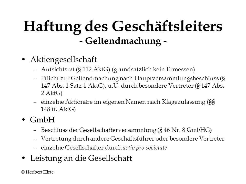 """""""Solvenztest des § 64 (Abs.2) Satz 3 GmbHG n.F."""