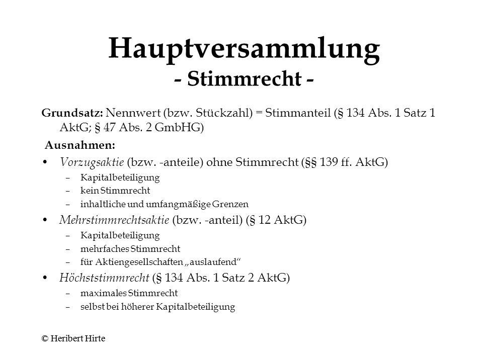 Hauptversammlung - Einladung - Veröffentlichung der Tagesordnung im elektro- nischen Bundesanzeiger und in den sonstigen Gesellschaftsblättern (§ 124 i.V.m.