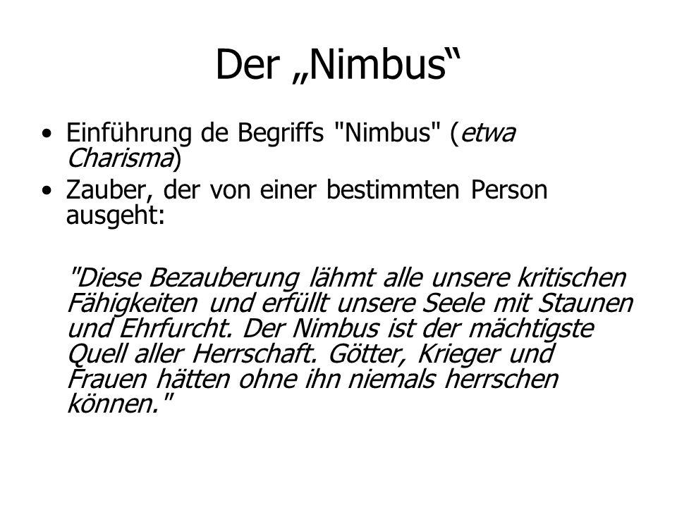 """Der """"Nimbus"""" Einführung de Begriffs"""