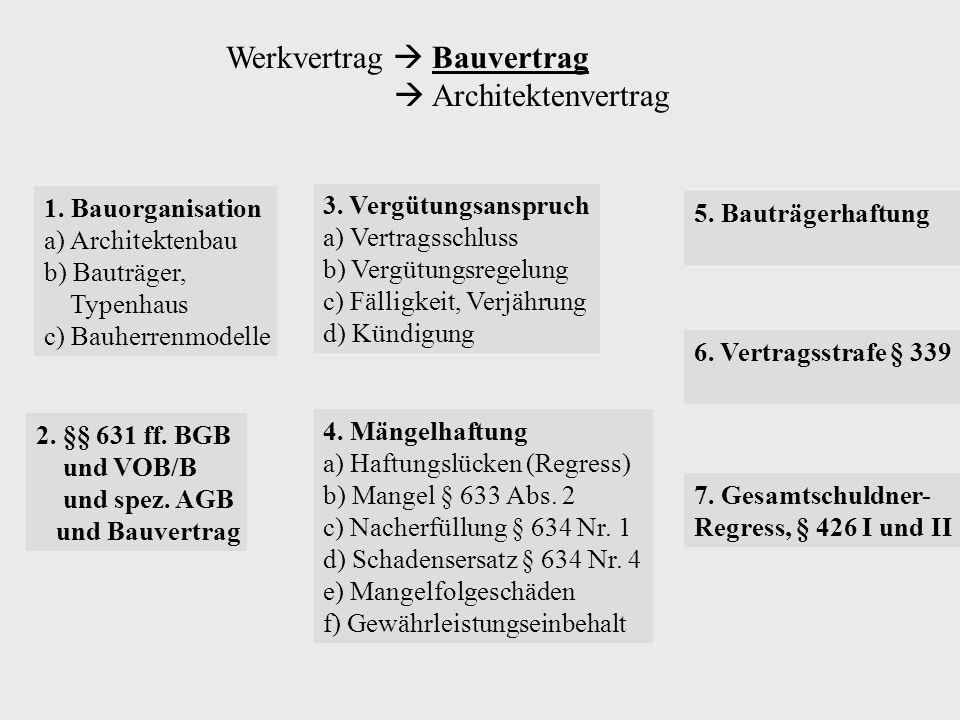 Luftschallschutz - BGH 14.5.98 - VII ZR 184/97, BB 1998, 1604: Der Kläger verlangt von der Beklagten Mängelbeseitigung wegen Luftschallmängel.