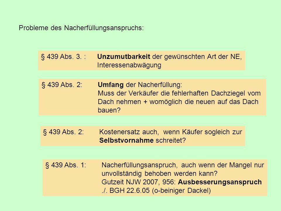 Verkauf eines Hauses (Marktwert 500.000 €) für 450.000 €.