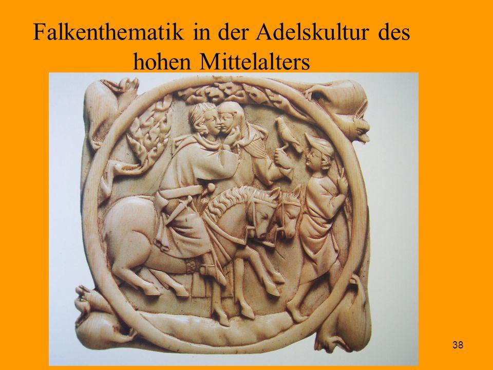 38 Falkenthematik in der Adelskultur des hohen Mittelalters