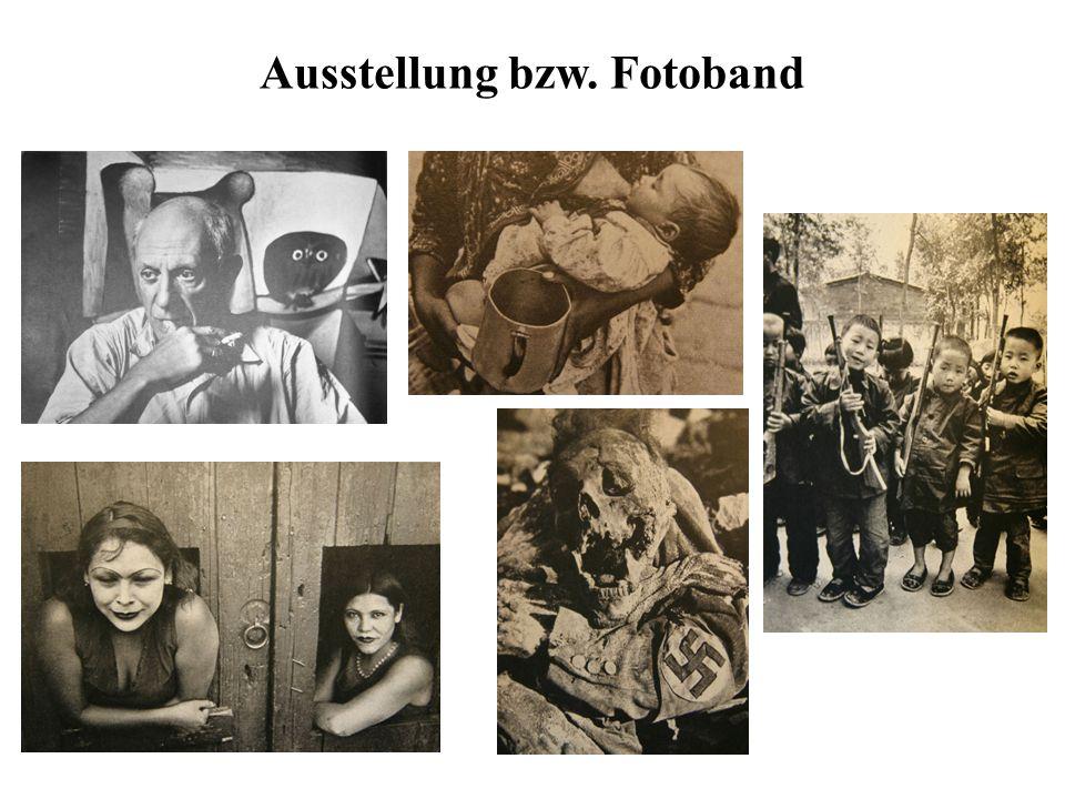 Ausstellung bzw. Fotoband