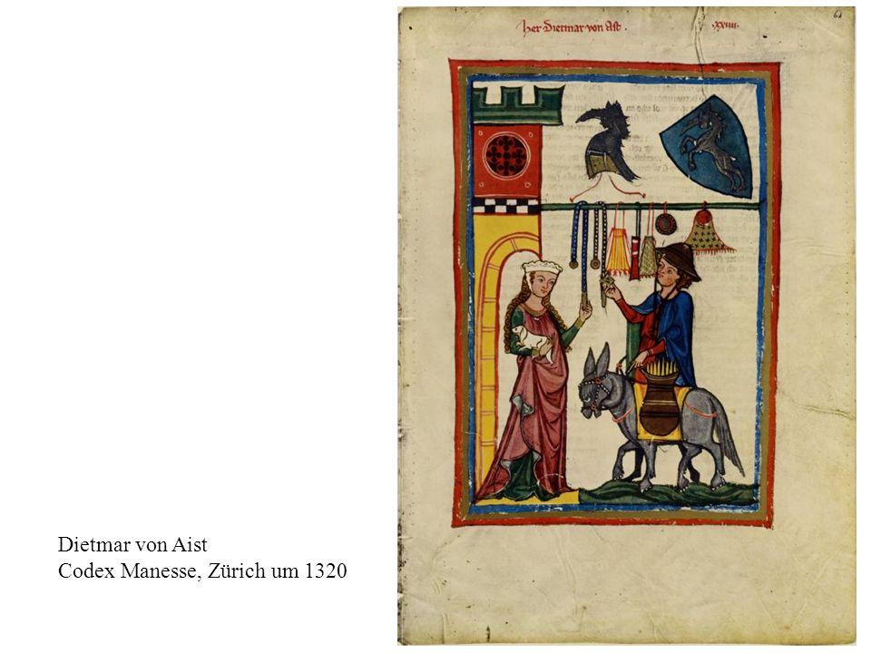 12 Dietmar von Aist Codex Manesse, Zürich um 1320