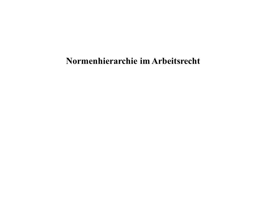 EG-Vertrag Grundgesetz Tarifvertrag Betriebsvereinbarung Allg.