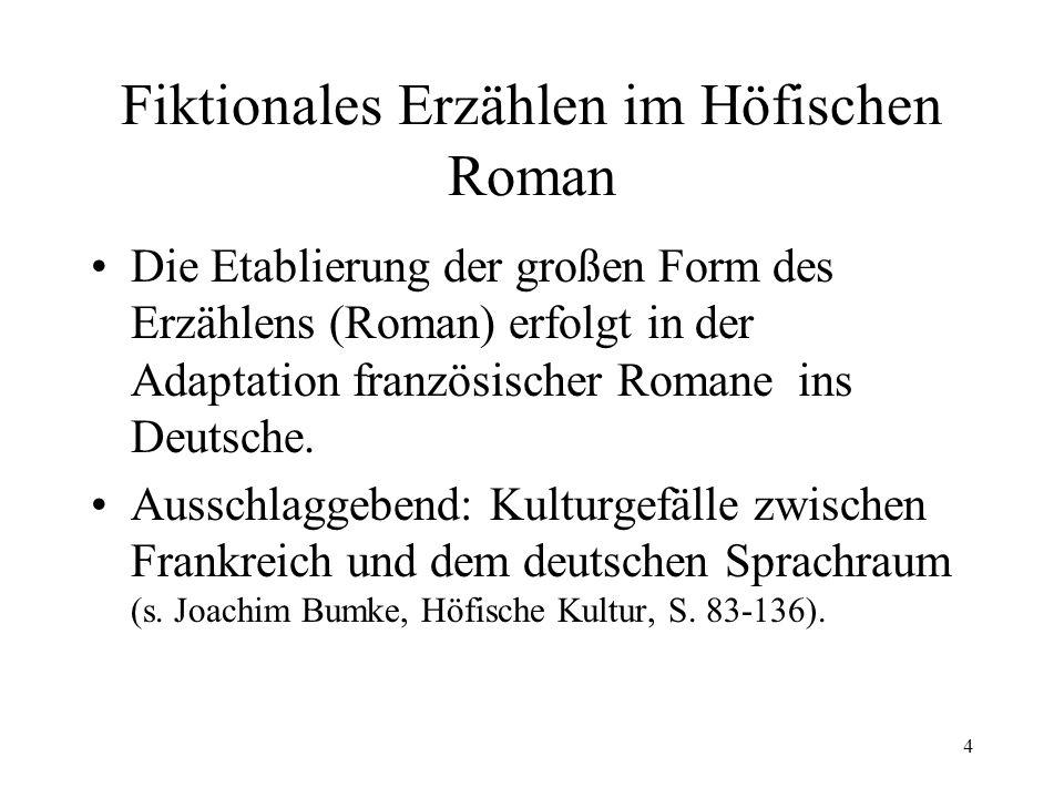 15 Das Konzept der mittelalterlichen Eneasromane Erzählbeginn im ordo naturalis (=natürliche Abfolge der Ereignisse): Belagerung von Troja...