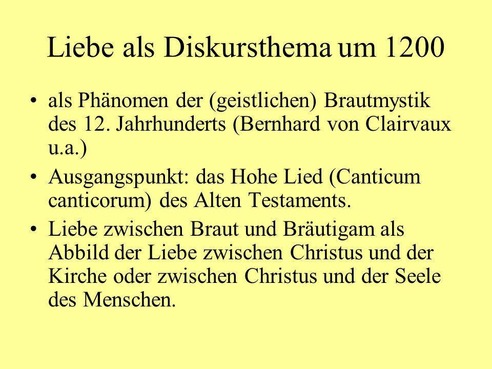 Kürnberger, Lied MF 7,1: Leitfragen Wer spricht.Zu wem wird gesprochen.