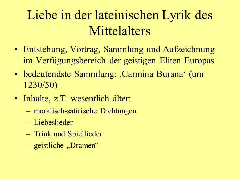 Minne: Wortgeschichte ahd.Minna, mhd.