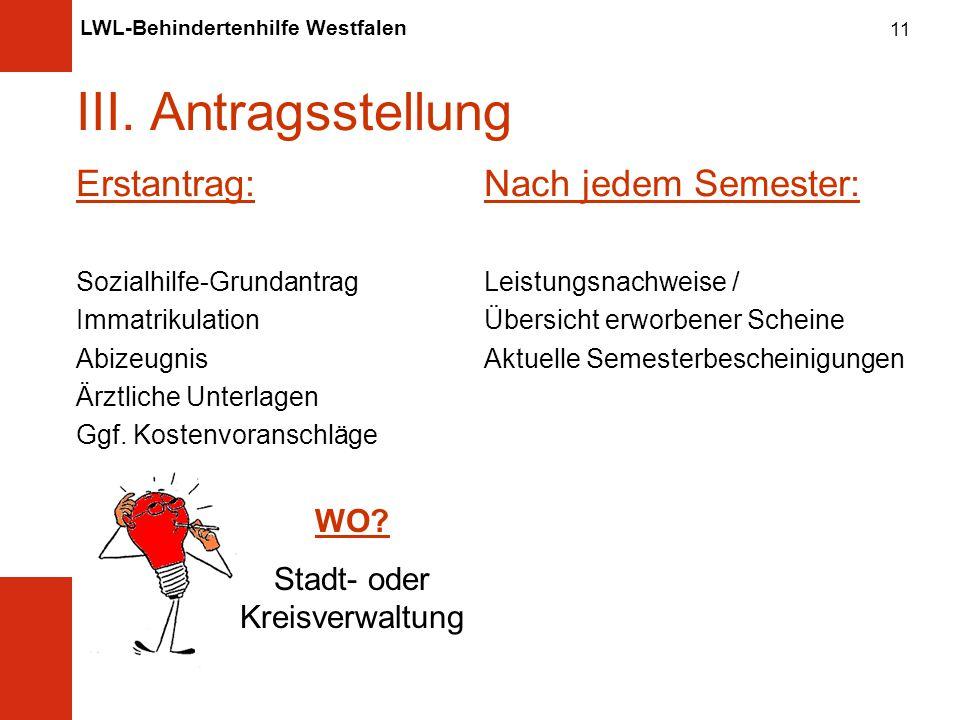 LWL-Behindertenhilfe Westfalen 11 III.