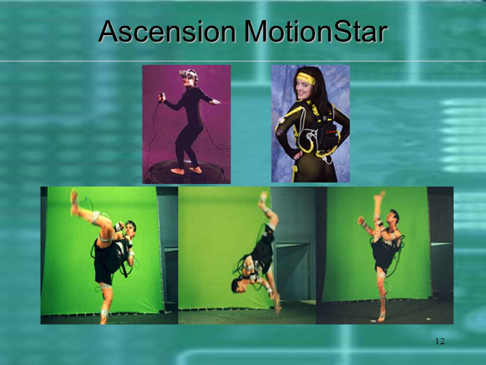 12 Ascension MotionStar