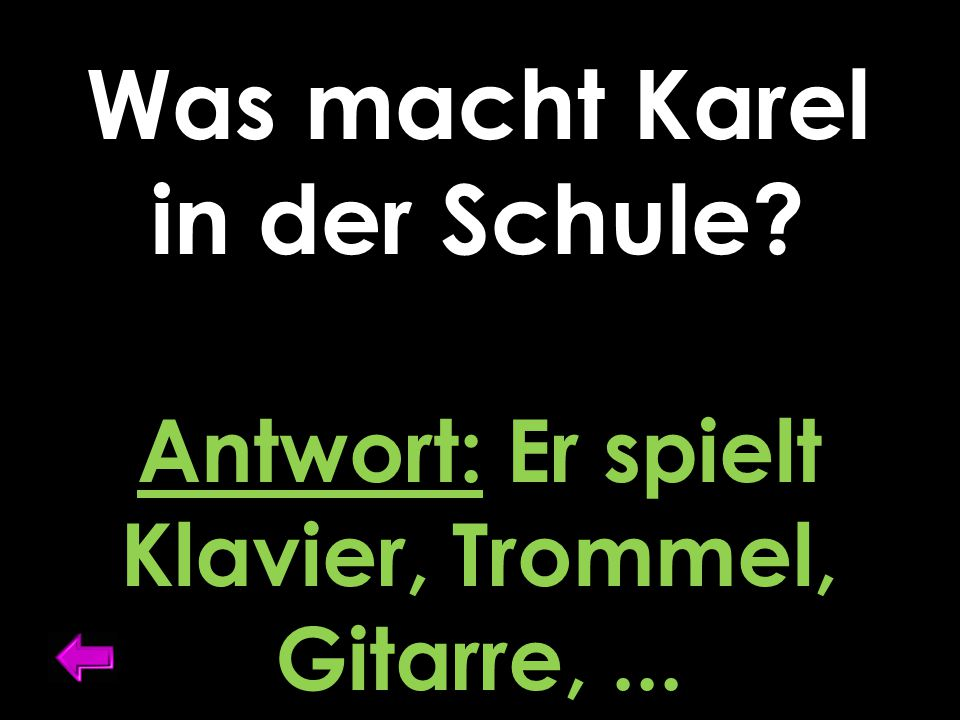 Was ist Karels Muttersprache? Antwort: Holländisch o. Franzözisch o. Deutsch