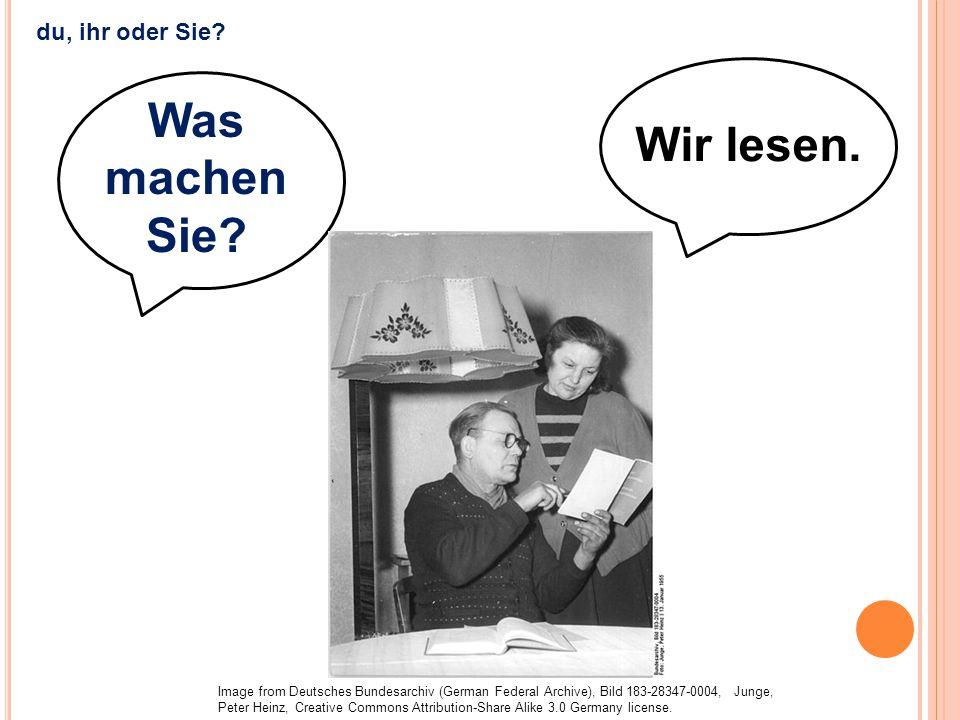 Wir lesen. Was machen Sie? Image from Deutsches Bundesarchiv (German Federal Archive), Bild 183-28347-0004, Junge, Peter Heinz, Creative Commons Attri