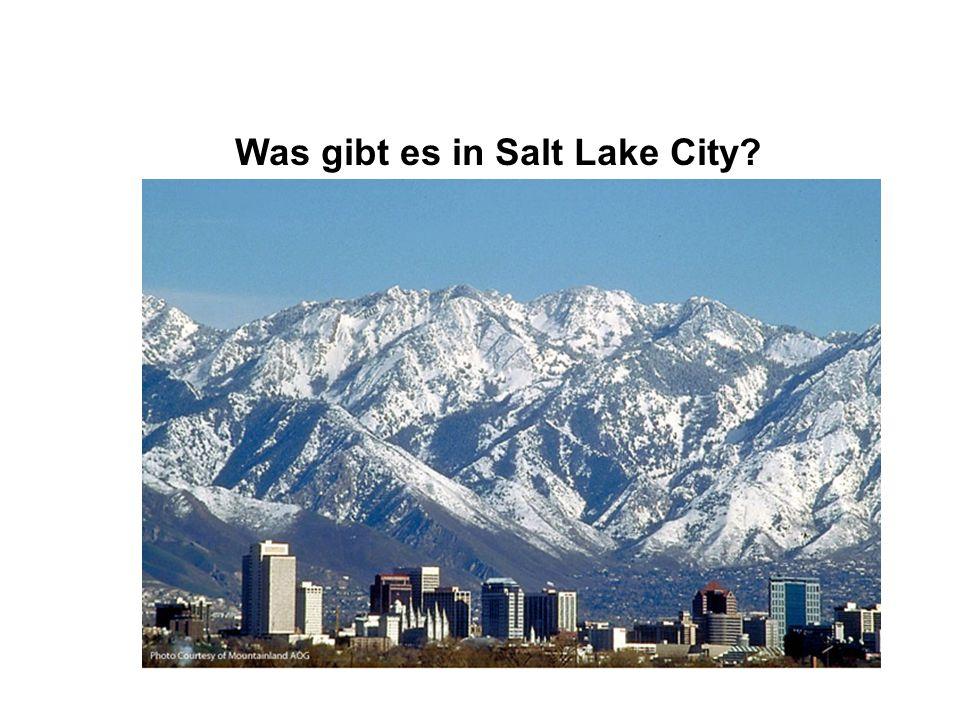 Was gibt es in Salt Lake City?