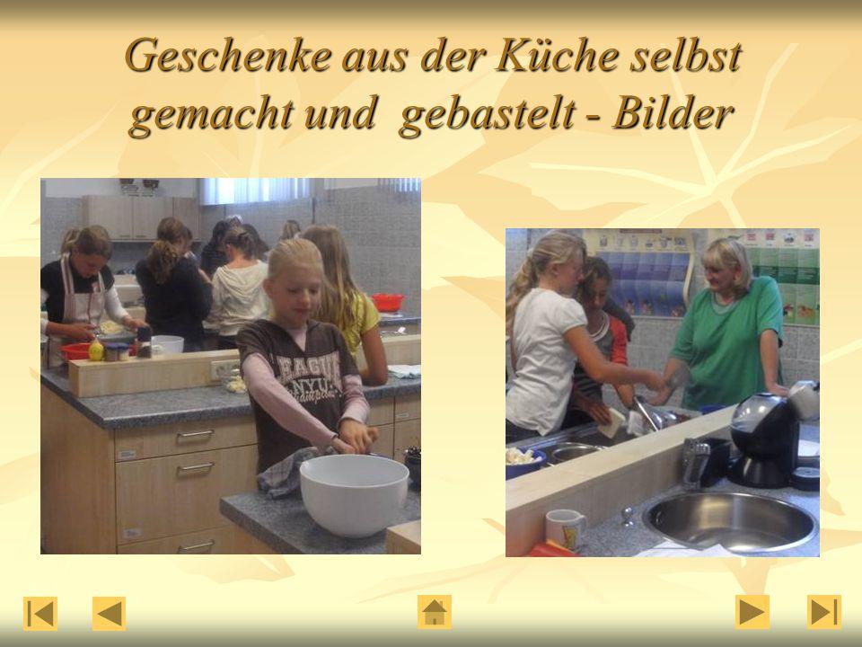 Geschenke aus der Küche selbst gemacht und gebastelt - Bilder