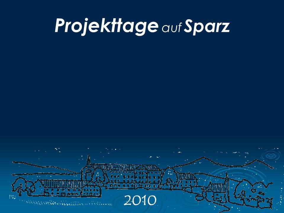 Projekttage auf Sparz 2010