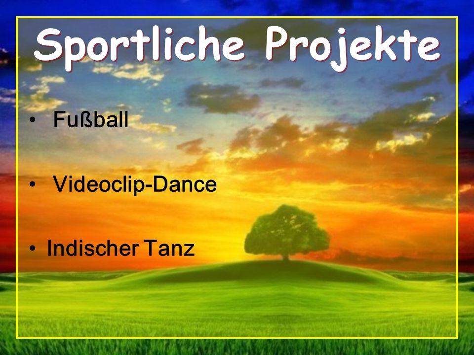 Sportliche Projekte Fußball Videoclip-Dance Indischer Tanz