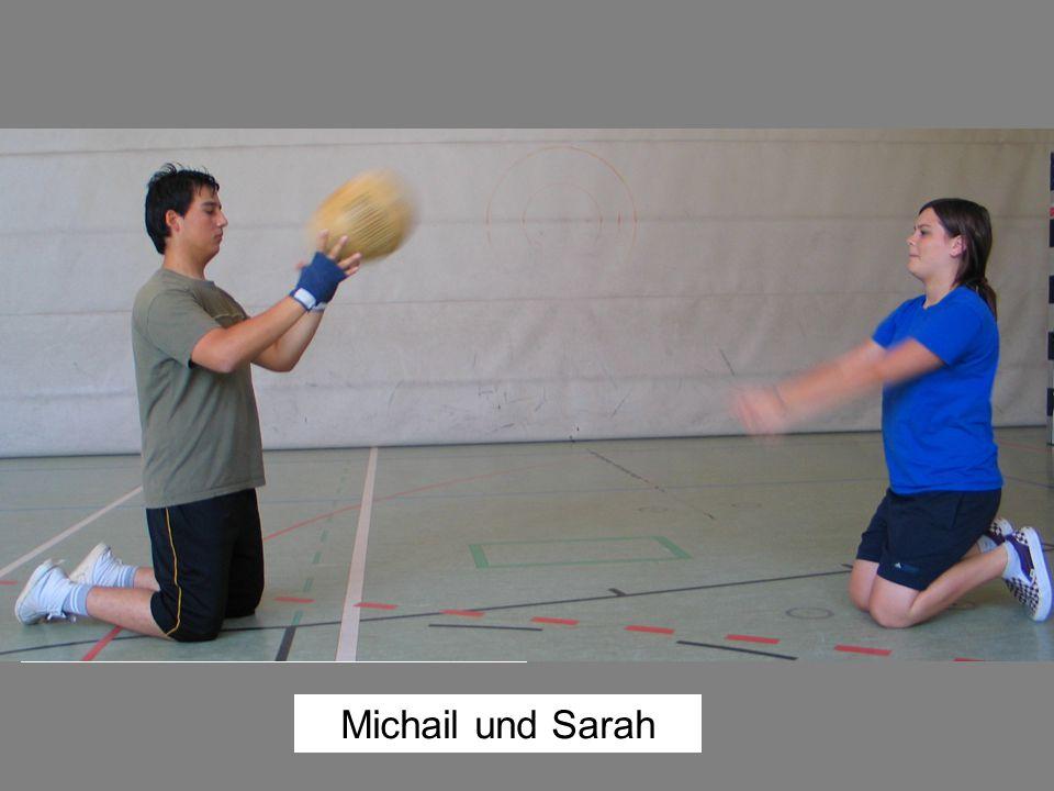 Michail und Sarah Michail Nahdizada, Boxer, SC Armin München, 14 Jahre: Ich war sehr glücklich, dass sich so viele Mädchen getraut haben, beim Boxen m