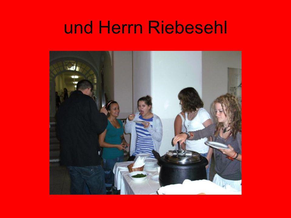 und Herrn Riebesehl