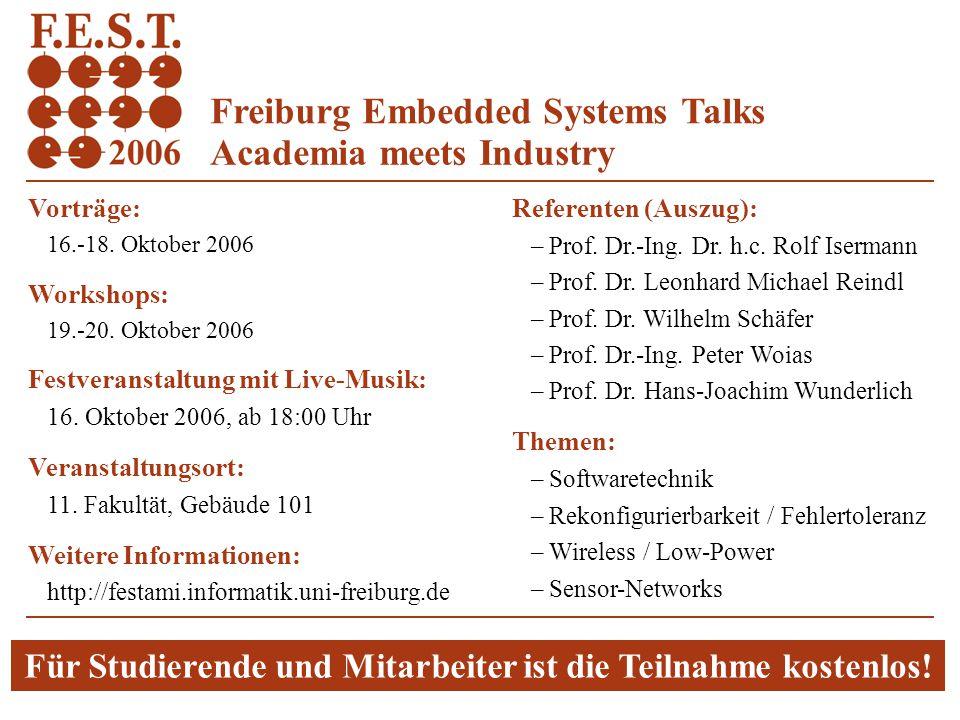 Albert-Ludwigs-Universität Freiburg Institut für Informatik Rechnernetze und Telematik Prof. Dr. Christian Schindelhauer Systeme-II23. Vorlesung - 1 F