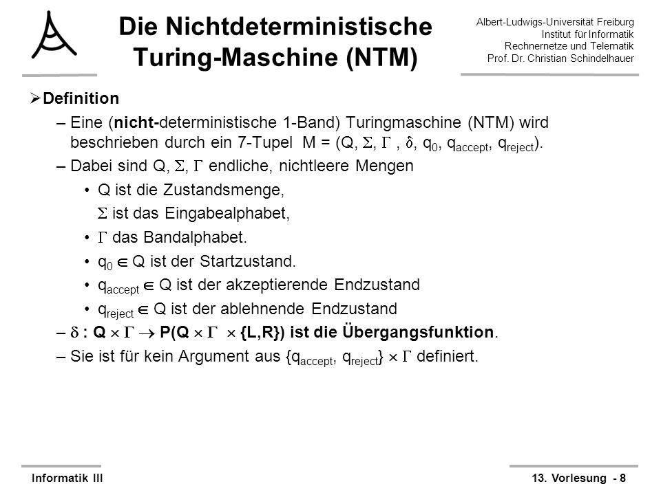 Albert-Ludwigs-Universität Freiburg Institut für Informatik Rechnernetze und Telematik Prof.