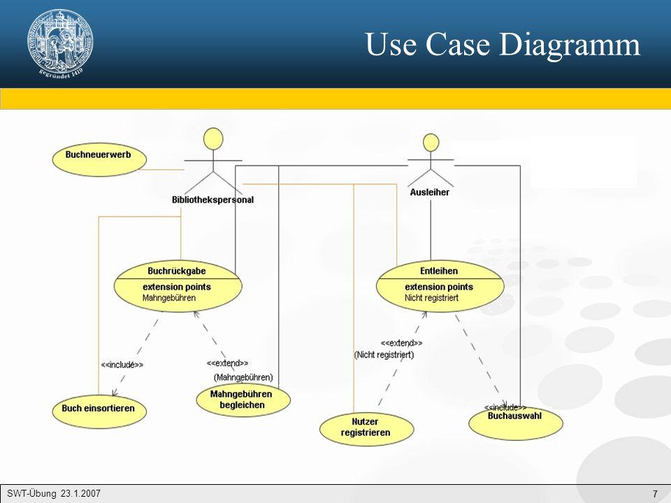 """18 SA/RT 1/2 """"Kontextdiagramm = oberstes DFD - Beschreibung der Beziehung zur Umwelt - genau 1 Prozess (""""0. ) - Keine Speicher - Mindestens 1 Schnittstelle DFD 0 – Verfeinerung des Kontextdiagrammes - Zerlegung von """"0 in Teilprozesse - Verfeinerung der Datenflüsse - Speicher DFD 1, DFD 2, DFD 1.1..."""