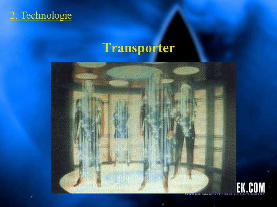 Subraum Kommunikation 2. Technologie