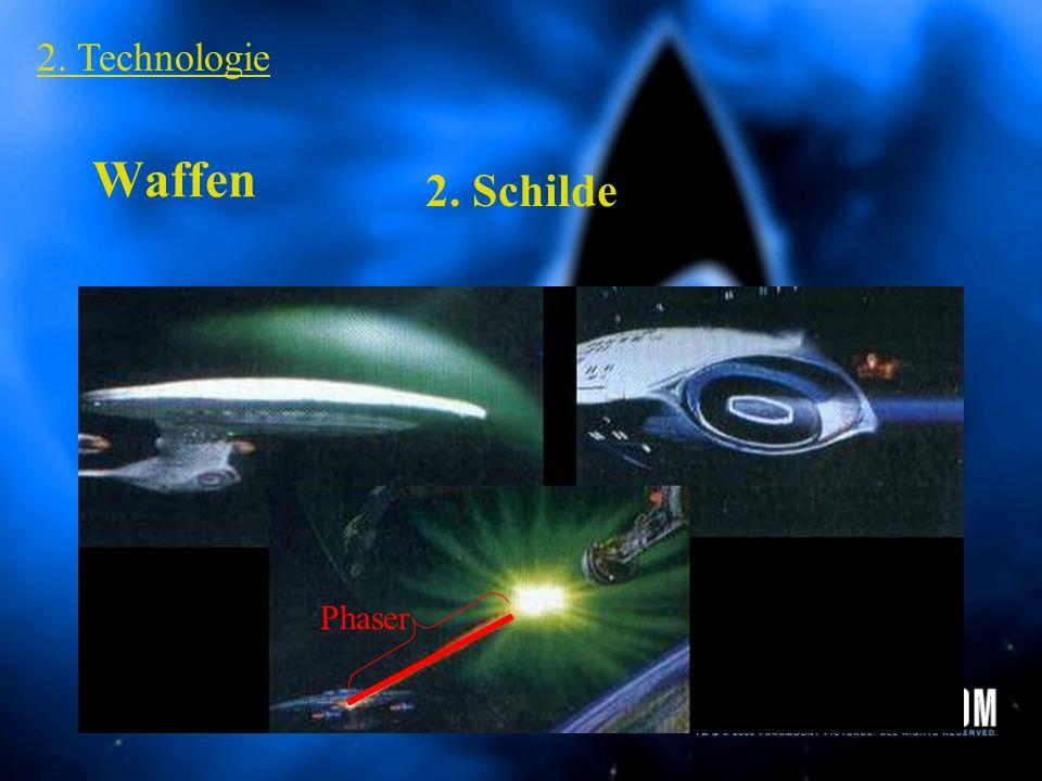 Waffen 2. Technologie 1. PHASER Handphaser Typ 2 Phaserfeuer USS Defiant