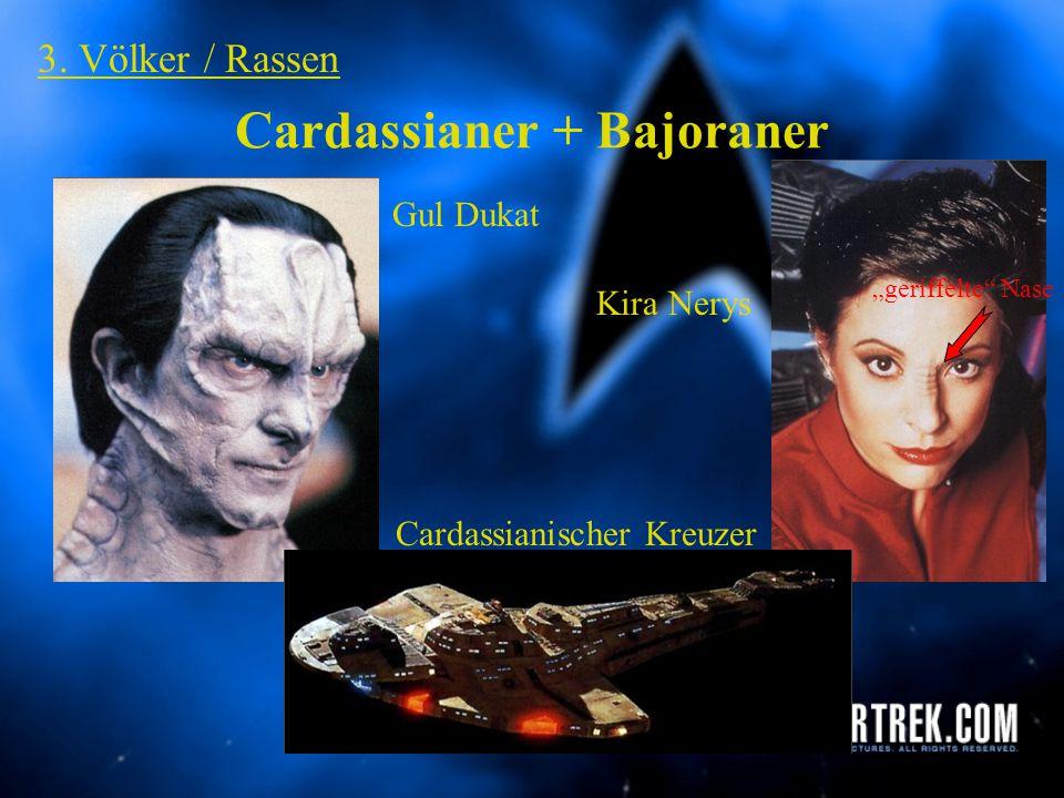 """Romulaner 3. Völker / Rassen Romulanischer """"Warbird"""" Romulaner spitze Ohren"""