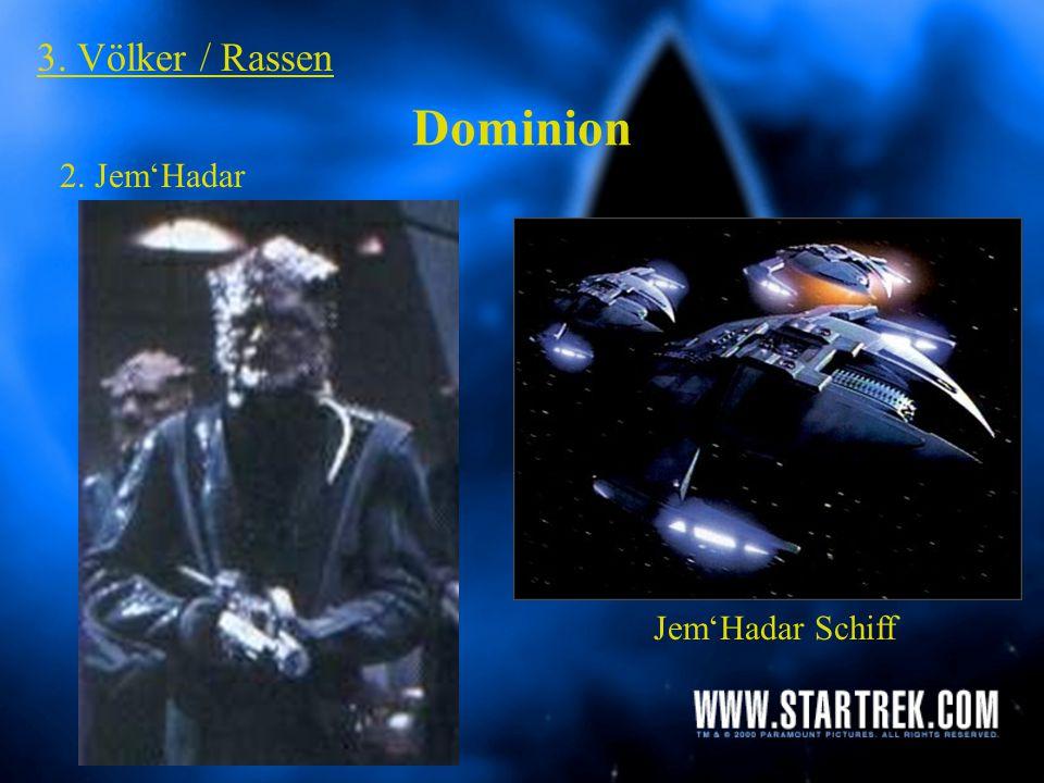 Dominion 3. Völker / Rassen 1. Gründer / Formwandler die große Verbindung