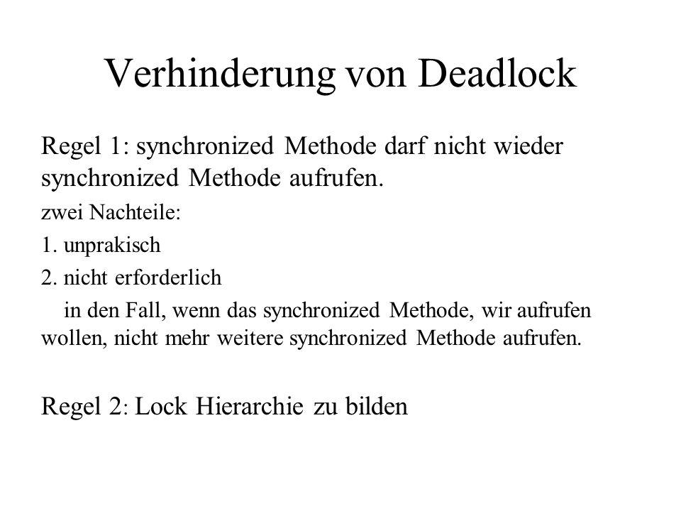 public class DBAcess{ privat QueueLock lock; public DBAcess(){ lock=new QueuedLock(); } public Object read(){ Object o; try{ lock.acquire(); o=someMethodThatReturnsData(); return o; } finally{ lock.release(); }