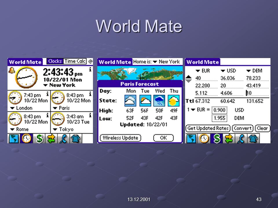 4313.12.2001 World Mate