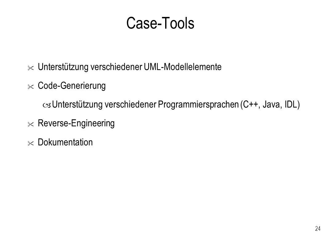 24 Case-Tools