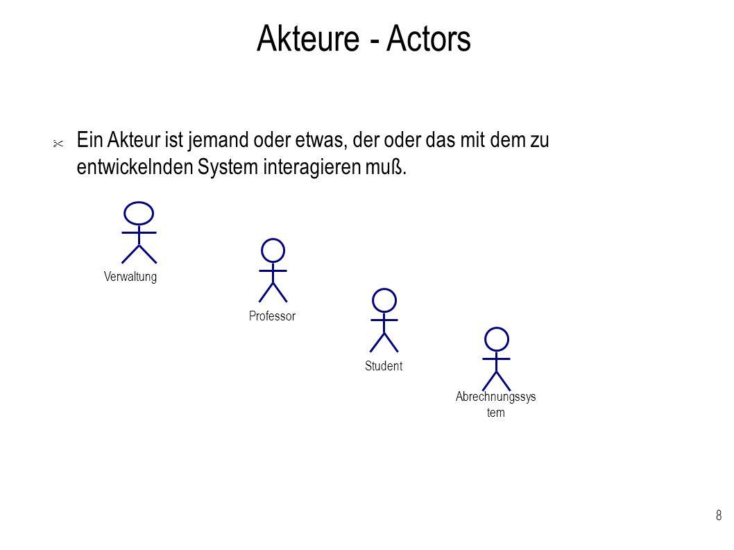 8 Akteure - Actors