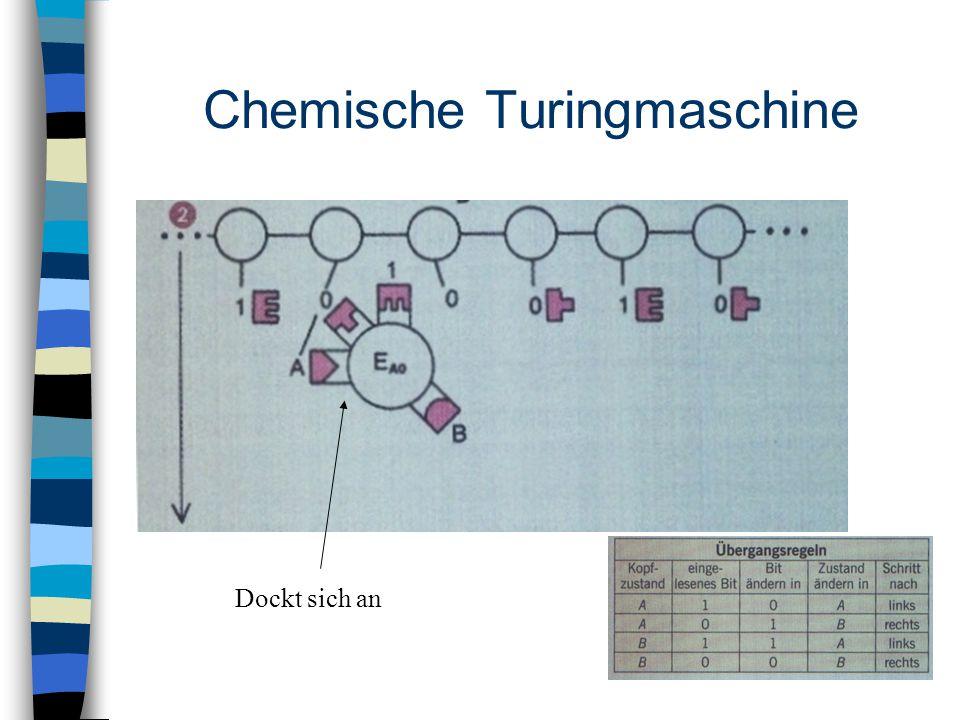 Chemische Turingmaschine Dockt sich an