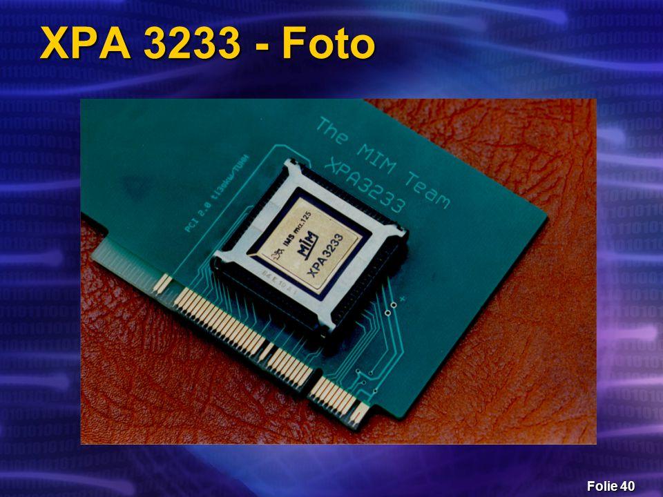 Folie 40 XPA 3233 - Foto