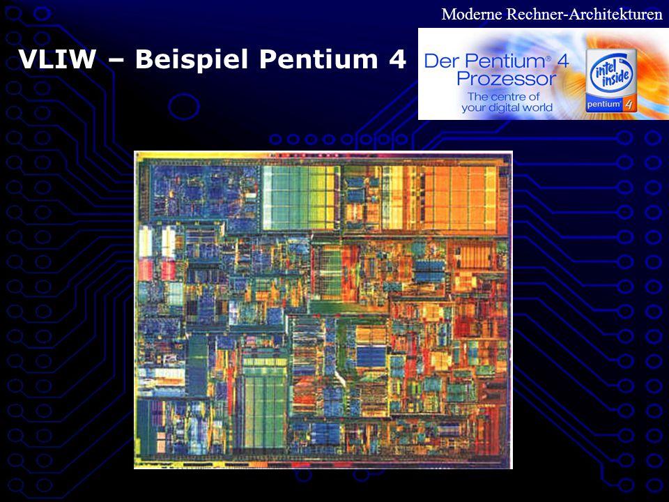 Moderne Rechner-Architekturen VLIW – Beispiel Pentium 4