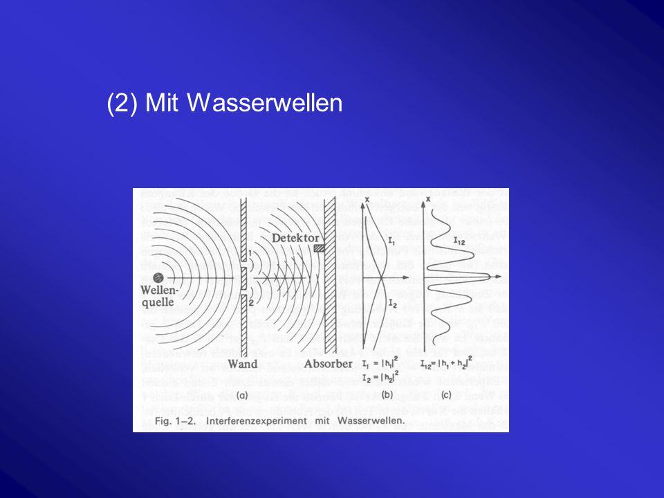 (3) Mit Elektronen Nach Richard P. Feynman (1918-1988, Nobelpreis 1965)