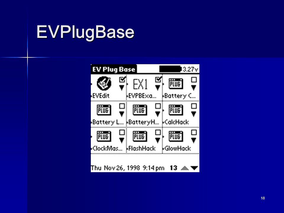 18 EVPlugBase