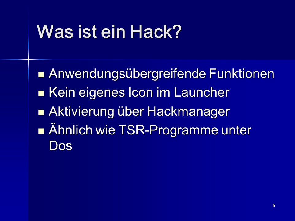 6 Wie funktioniert ein Hack.