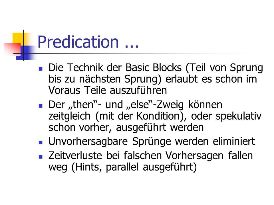 Predication...