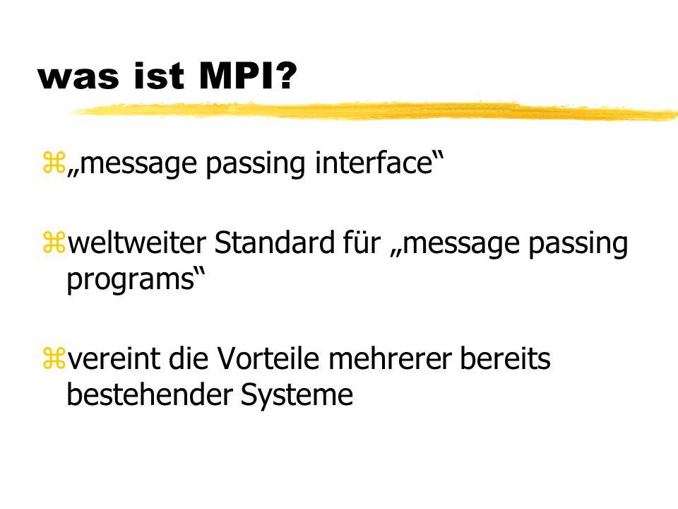 was ist MPI.
