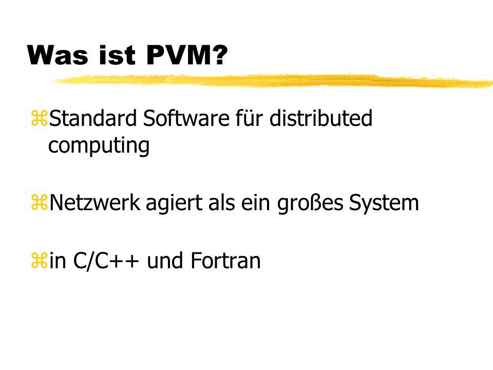 Was ist PVM.