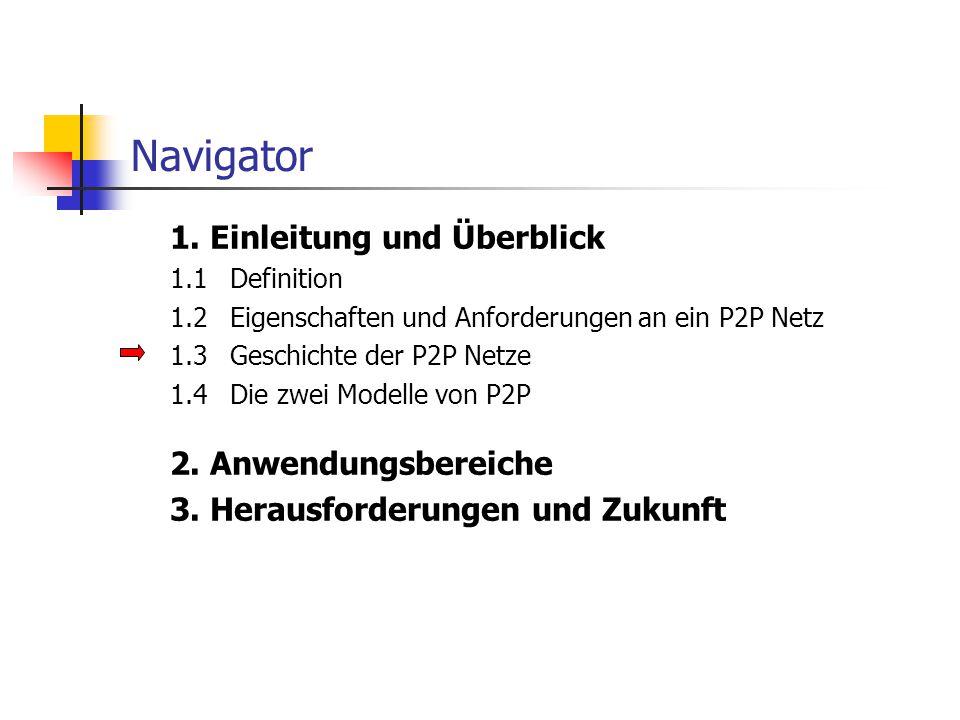 Navigator 1.Einleitung und Überblick 2.