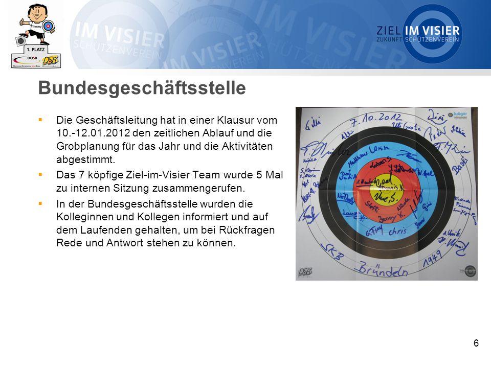 Öffentlichkeitsarbeit  Der Sportausschuss des Bundestages wurde angeschrieben und auf das Aktionswochenende aufmerksam gemacht.