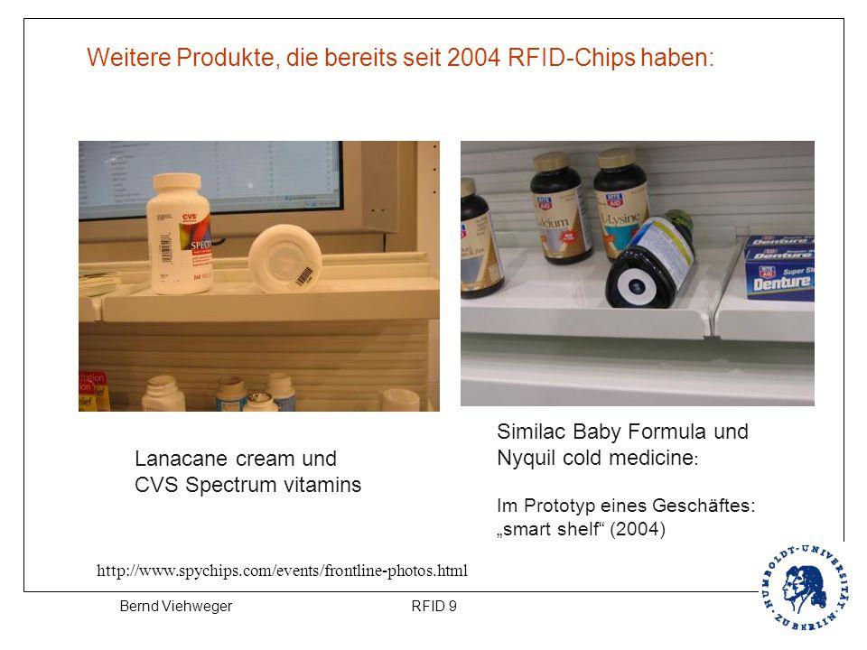 RFID 9Bernd Viehweger Lanacane cream und CVS Spectrum vitamins http://www.spychips.com/events/frontline-photos.html Similac Baby Formula und Nyquil co