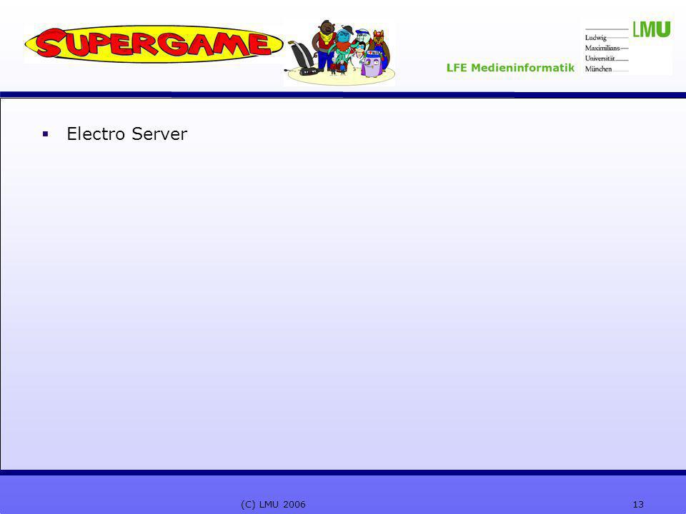 13(C) LMU 2006  Electro Server