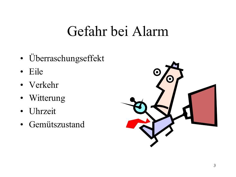 2 Gefahr bei Alarm