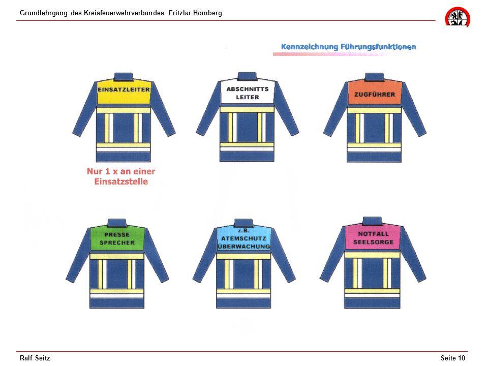 Grundlehrgang des Kreisfeuerwehrverbandes Fritzlar-Homberg Seite 10Ralf Seitz
